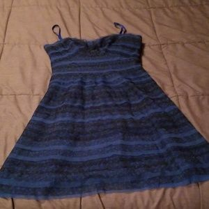 Slightly Ruffled Party Dress